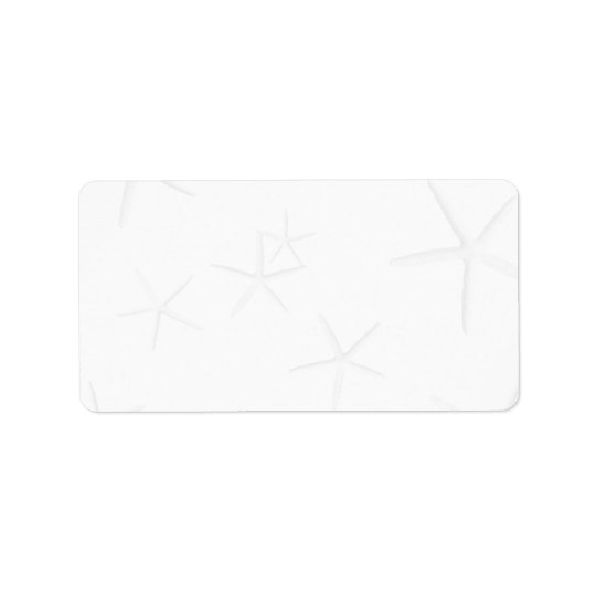 Blank, Starfish Address Labels