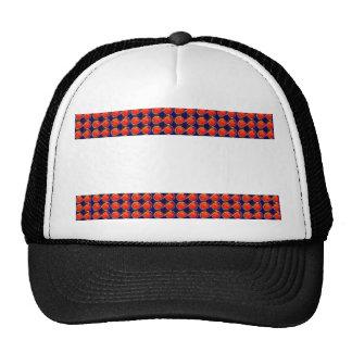 BlanK STRIPE Template DIY add TXT IMAGE EVENT name Trucker Hats