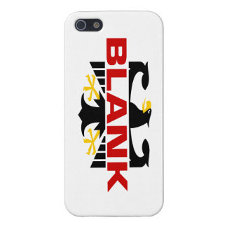 Blank Surname iPhone 5 Covers