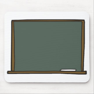 Blank Teacher s Chalk Board Mouse Pad