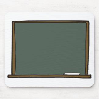 Blank Teacher's Chalk Board Mouse Pad