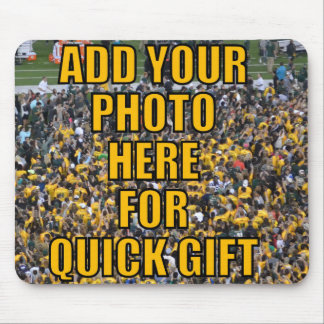 BLANK TEMPLATE FOR YOUR PHOTO EASY 5 MINUTE GIFT ! MOUSE PAD