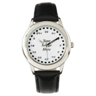 Blank Template (Korean Face) by Kenneth Yoncich Wristwatches