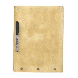 Blank Vintage Aged Paper Dry Erase Board