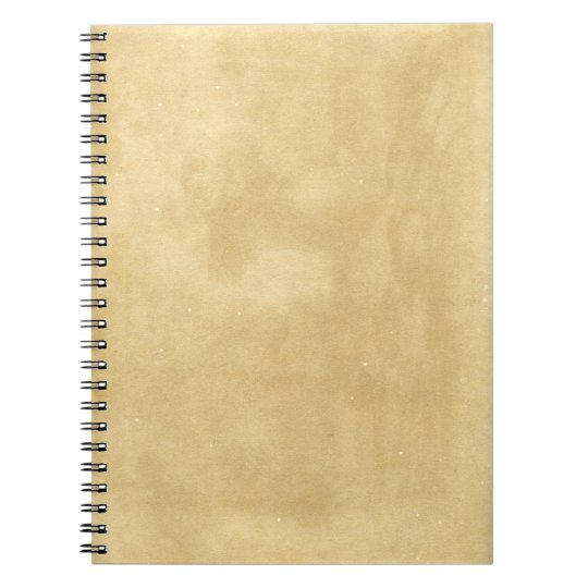 Blank Vintage Aged Paper Notebooks