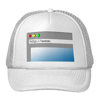 Blank Web Page Cap