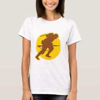 Blank Women's ScanningWWII.com logo T-shirt