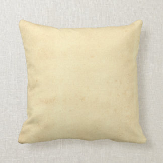 Blank Yellowed Antique Paper Pillows