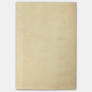Blank Yellowed Antique Paper Post-it Notes
