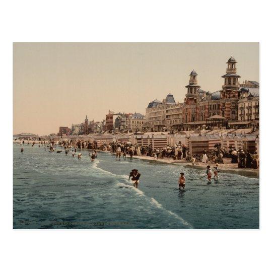 Blankenberghe Beach I, Belgium Postcard