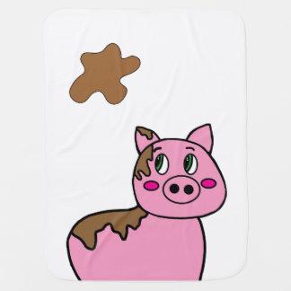 Blanket - Cute Muddy PIg