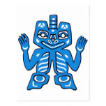 Blanket design of the Haida Indians Post Cards
