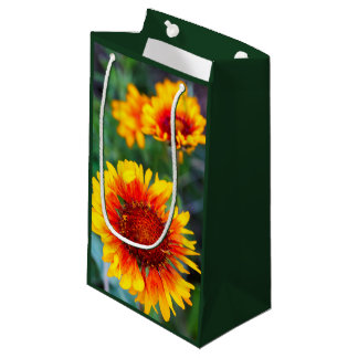 Blanket flower aka brown eyed susan in Glacier Small Gift Bag