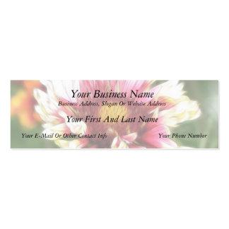 Blanket Flower Bloom Pack Of Skinny Business Cards