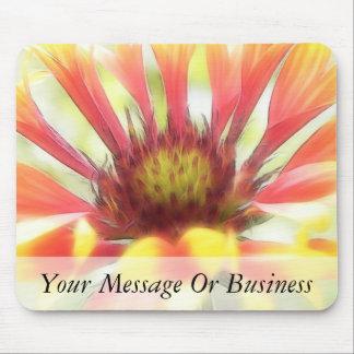 Blanket Flower Blossom Mouse Pad