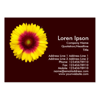 Blanket Flower - Brown Pack Of Chubby Business Cards
