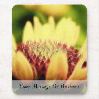 Blanket Flower Bud Mouse Pad