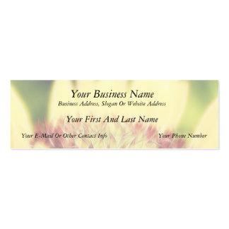 Blanket Flower Bud Pack Of Skinny Business Cards