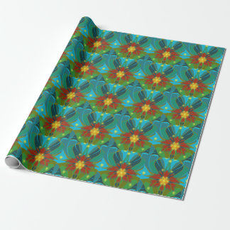 """Blanketflower Wrapping Paper 30"""" x 6'"""