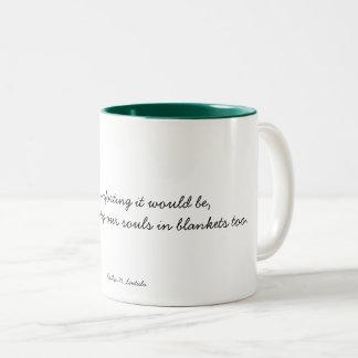 Blankets Two-Tone Coffee Mug