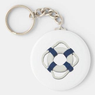BlankLifePreserver081212.png Basic Round Button Key Ring