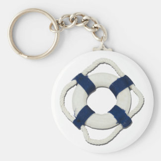 BlankLifePreserver081212.png Basic Round Button Key Ring