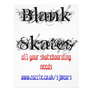 BlankSkates, www.zazzle.co.uk/sjmears0208650930... Flyers
