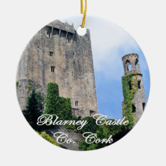 Blarney Castle, Ireland. Irish Christmas Ornament. Christmas Ornament