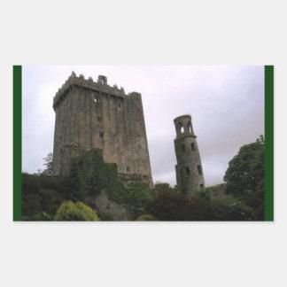 Blarney Castle Rectangular Sticker