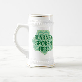 Blarney Spoken Here Mug Coffee Mugs