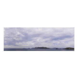 Blasket Islands Panorama Photo Print