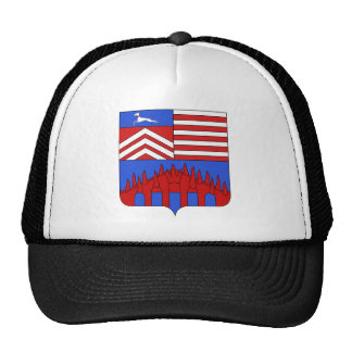 Blason Fontenoy-sur-Moselle 54 Mesh Hats