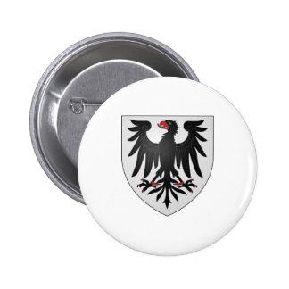 Blason René Lepage de Ste-Claire Canada Coat Arms 6 Cm Round Badge