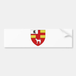 Blason ville fr Adelange (Moselle) Bumper Sticker