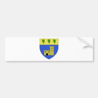 Blason ville fr Chassagny (Rhone) Bumper Sticker