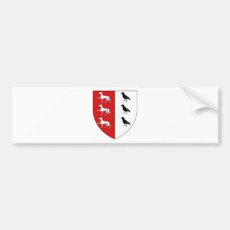 Blason ville fr Collongues (65) Bumper Sticker