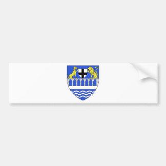 Blason ville fr La Bouexiere (Ille-et-Vilaine) Bumper Sticker
