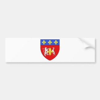 Blason ville fr Lorgues (83) Bumper Sticker