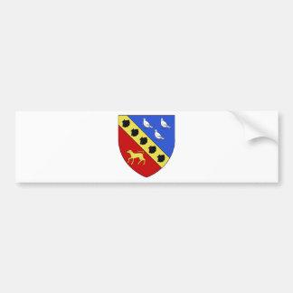 Blason ville fr Saint-Germain-de-la-Grange Bumper Sticker