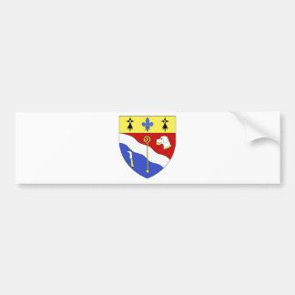 Blason ville fr Sayat (Puy-de-Dome) Bumper Sticker