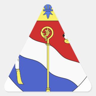 Blason ville fr Sayat (Puy-de-Dome) Triangle Sticker