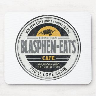 Blasphem-Eats Mouse Pad