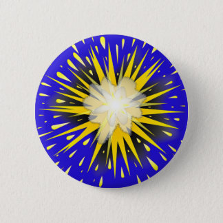 Blast 6 Cm Round Badge