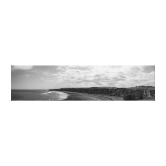 Blast Beach Panorama Canvas Print