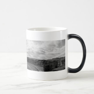 Blast Beach Panorama Heat change Magic Mug