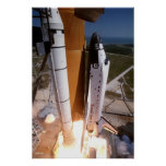 """Blast-off of the Space Shuttle """"Endeavour"""" Poster"""