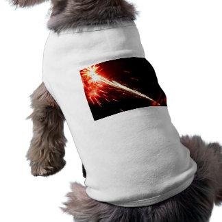 Blasted Lights Sleeveless Dog Shirt