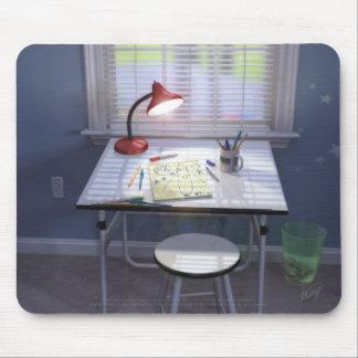 BlastOff Inspiration Mouse Pad