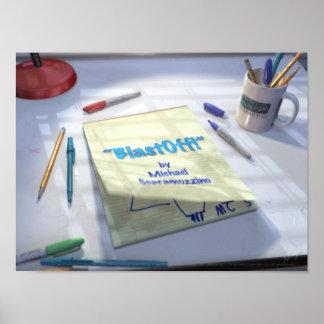 BlastOff! Page Turn Print