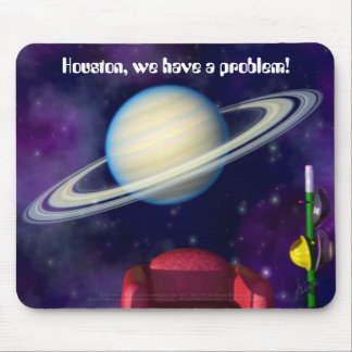 BlastOff! Saturn Mouse Pad